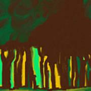 Forest In The Hidden Art Print