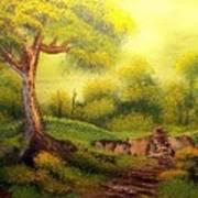 Forest Path Art Print