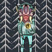 Forest Spirit, Forest Keeper Art Print