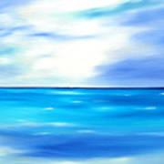 Forever Azure Art Print