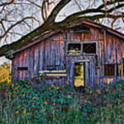 Forgotten Barn Print by Garry Gay