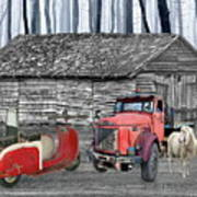 Forgotten Old Timers Art Print