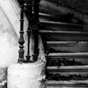 Forgotten Stairs Print by Georgia Fowler