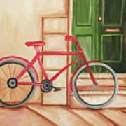 Forlorn Bike Art Print