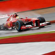 Formula 1 British Grand Prix Art Print