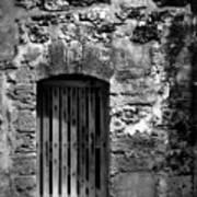 Fort Doorway Art Print