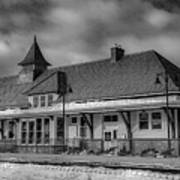 Fort Edward Train Station Art Print