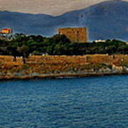 Fort Guvercinada On Canvas Art Print