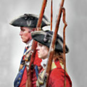 Fort Ligonier Soldiers Art Print