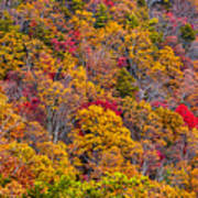 Fort Mountain State Park Cool Springs Overlook Art Print