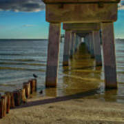 Fort Myers Beach Art Print
