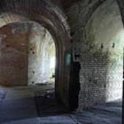 Fort Pickens Corridors Art Print