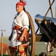 Fort Stanwix Warrior Art Print
