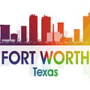 Fort Worth Tx Art Print