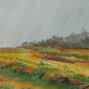 Forthill Last Oct4 Art Print
