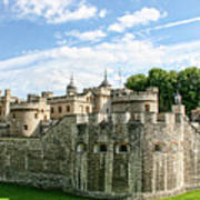 Fortress Of The Tower Of London Art Print