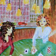 Fortune Teller Art Print
