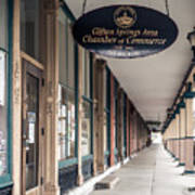 Foster Building In Clifton Springs Art Print