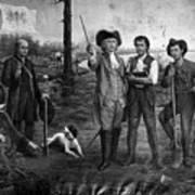 Founding Of New Orleans Art Print