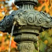 Fountain At Union Park Art Print