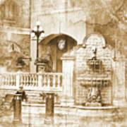 Fountain Of Rest Art Print