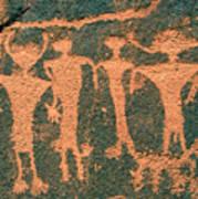 Four Anasazi Art Print