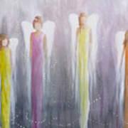Four Angels Art Print