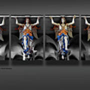 Four Angels Of The Corvey Abbey Art Print