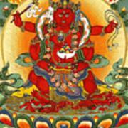 Four Armed Dzambhala Art Print