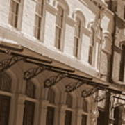 Four Corners In New Orleans Art Print