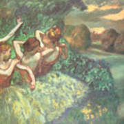 Four Dancers Art Print