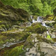 Four Falls Walk Waterfall 3 Art Print