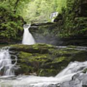 Four Falls Walk Waterfall 5 Art Print