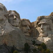 Four Former U S Presidents Art Print