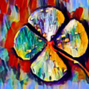 Four Leaf Clover Art Print