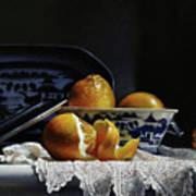 Four Lemons With Canton Art Print