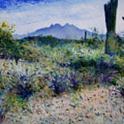 Four Peaks Phoenix Arizona Usa 2003  Art Print