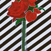 Four Roses Art Print