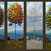 Four Seasons Art Print