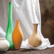 Four Vases II Art Print by Tom Mc Nemar