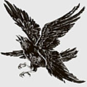 Four Wings Art Print