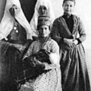 Four Women From Bethlehem Art Print