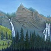 Fourmile Falls And Fall Creek Falls Art Print