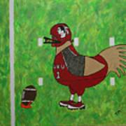 Fourth And Goal Art Print