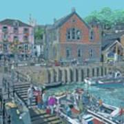 Fowey Cornwall Art Print