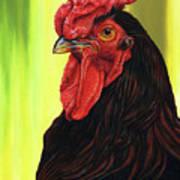 Fowl Emperor Art Print