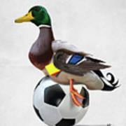 Fowl Wordless Art Print