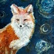 Fox Red  Painting  Art Print