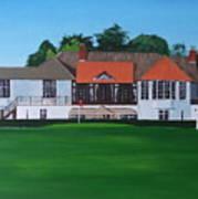 Foxrock Golf Club Art Print