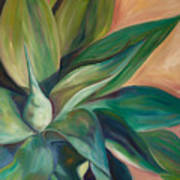 Foxtail Agave 4 Art Print by Athena  Mantle
